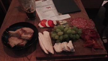 """Cheese and Meat Platter"" at Mel's Craft Beers & Diner"